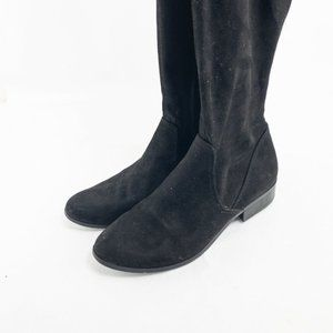 Aldo Womens Black Over The Knee Boots Size US 9